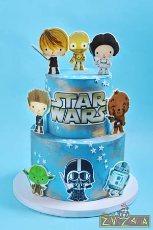 Star Wars Cake - Cake by Nasa Mala Zavrzlama
