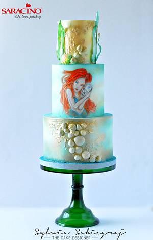 Under The Sea Sugar Art Collaboration - Cake by Sylwia Sobiegraj The Cake Designer