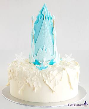 Frozen cake - Cake by Catcakes