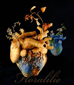 """Earth-Heart """"Amore - a future for our children"""" - Cake by Floralilie"""