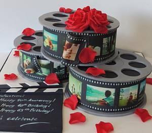 Triple celebration  - Cake by Shereen