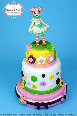 LaLa Loopsy Blossom Flowerpot - Cake by Ylenia Ionta - SweetArt Cake Design