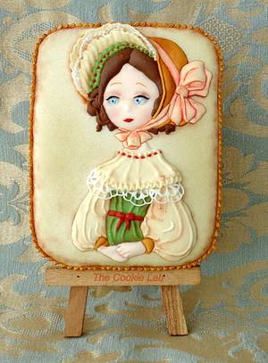 Charlene - Probably a Charles Dicken´s Girl - Cake by The Cookie Lab  by Marta Torres