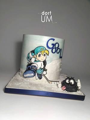Jung hockey man - Cake by dortUM