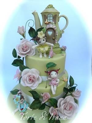 the garden of the fairies - Cake by ivana guddo