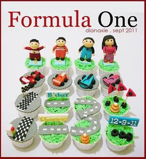 Formula One - Cake by Diana