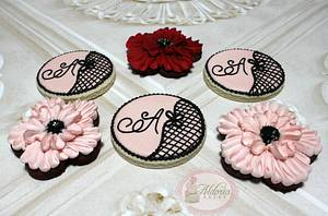 Quinceanera Cookies - Cake by Aldoria Cakery