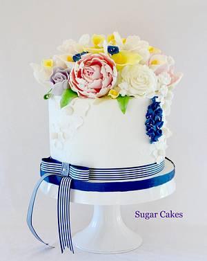 """Spring Wedding"" - Cake by Sugar Cakes"