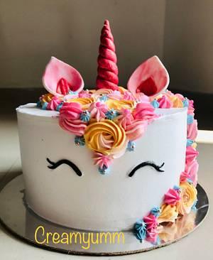 Unicorn for a Teen  - Cake by Creamyumm