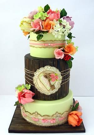 Wedding cake - Cake by Mina Bakalova