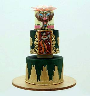 Incredible India Cake Collaboration -  Temple Cake - Cake by Chanda Rozario