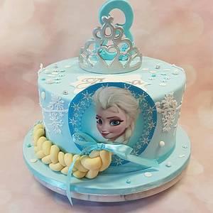 Ice queen cake nr. 2 - Cake by Rina Kazimierczak