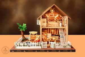 Cakerbuddies Miniature Dollhouse Collab - Nook - Cake by Sheetal Agarwal