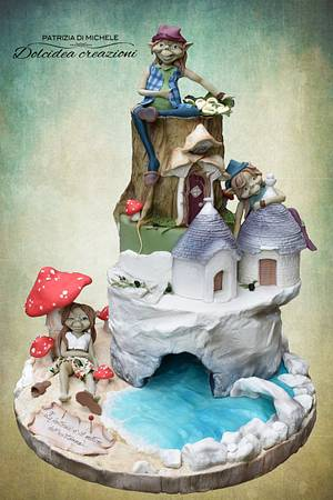 Pixies in Puglia - Cake by Dolcidea creazioni
