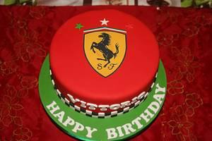Ferrari Cake - Cake by Mimi's Sweet Treats