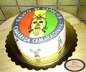 Capeira cake  - Cake by Daniela Morganti (Lela's Cake)