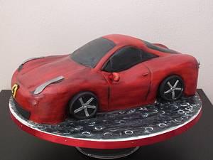 ferrari cake - Cake by Janeta Kullová