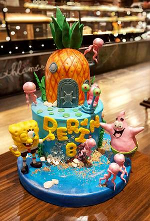 Sponge Bob cake - Cake by Şule