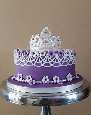 Simply princes cake - Cake by Olina Wolfs