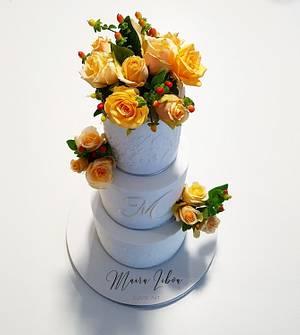15th birthday  - Cake by Maira Liboa