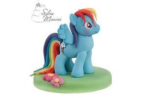 Rainbow dash  - Cake by Silvia Mancini Cake Art