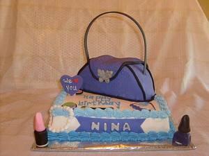 Nina's Purse - Cake by Pamela