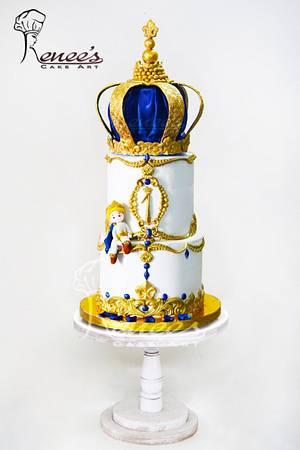 Birthday Cake by Purbaja B Chakraborty : Royal Theme - Cake by Purbaja B Chakraborty