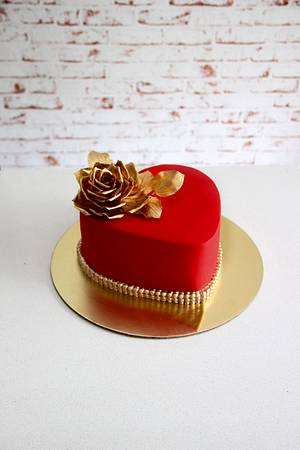 Love is in the air !  - Cake by Signature Cake By Shweta