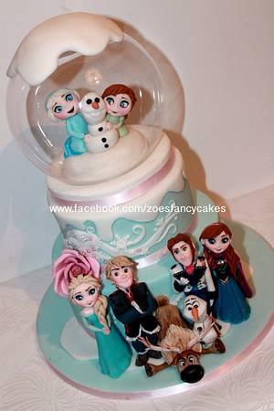 Frozen...full cast - Cake by Zoe's Fancy Cakes