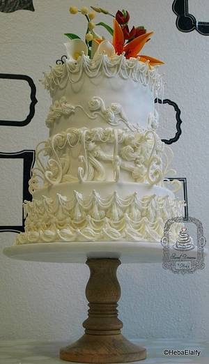 Sweet Summer Collab - Wedding Cake. - Cake by Sweet Dreams by Heba