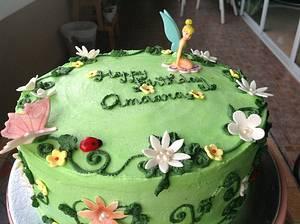Tinkerbelle cake - Cake by Radhika