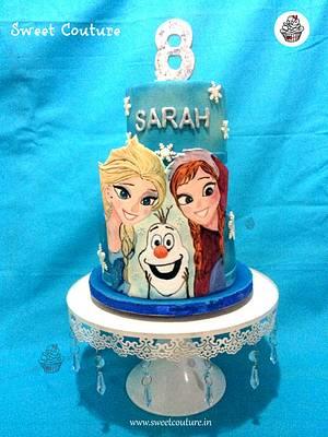 Frozen-Heads up! - Cake by Sunaina Sadarangani Gera