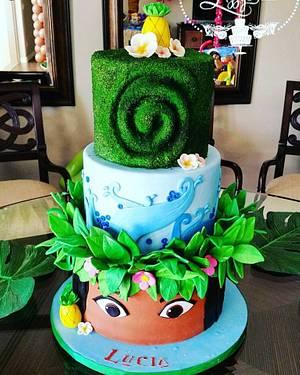 Moana Cake - Cake by Elizabeth