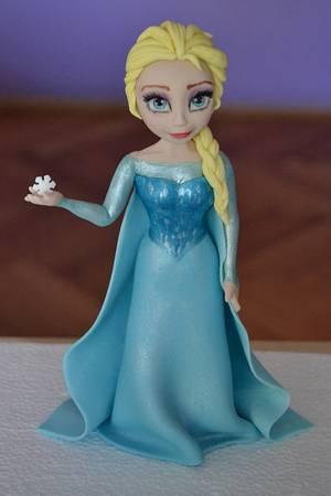 Elsa - Cake by Zaklina