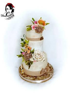 Natural wedding cake  - Cake by Ivon