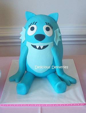 Toodee (Yo Gabba Gabba) Cake - Cake by DeliciousDeliveries