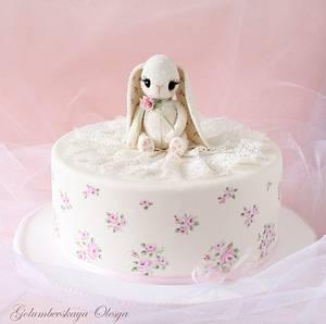 "Cake ""Cute Bunny"" - Cake by Golumbevskaya Olesya"