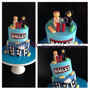 LEGO! - Cake by Mmmm cakes and cupcakes