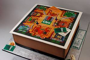 Clue Game Board Cake - Cake by Jenniffer White