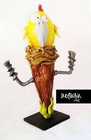 The Nest (El Nido) - Cake by Berna García / Ilusiona Cakes