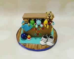 Toy box - Cake by Urvi Zaveri