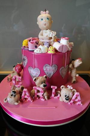 It´s a girl! - Cake by Tina