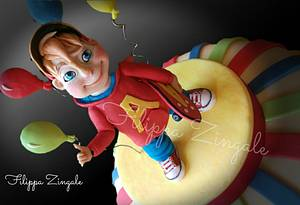 Alvin and the chipmunks - Cake by filippa zingale