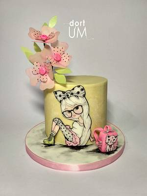 To the school - Cake by dortUM