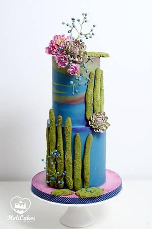 My cake :) - Cake by MOLI Cakes