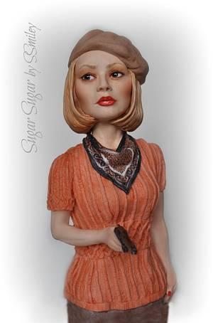 Bonnie Parker - Cake by Sandra Smiley