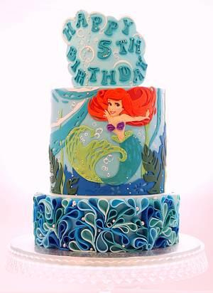 The Little Mermaid Ariel cake - Cake by Svetlana Petrova