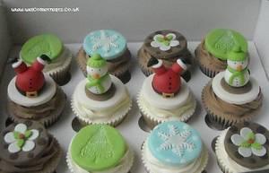 Christmas Cupcakes - Cake by welcometreats