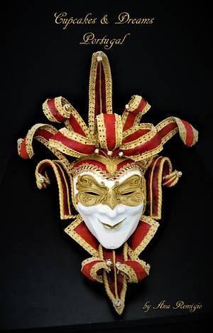 VENETIAN CARNIVAL CAKERS COLLABORATION - Cake by Ana Remígio - CUPCAKES & DREAMS Portugal