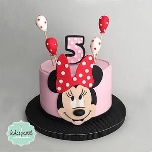 Torta Minnie Mouse Medellín - Cake by Dulcepastel.com